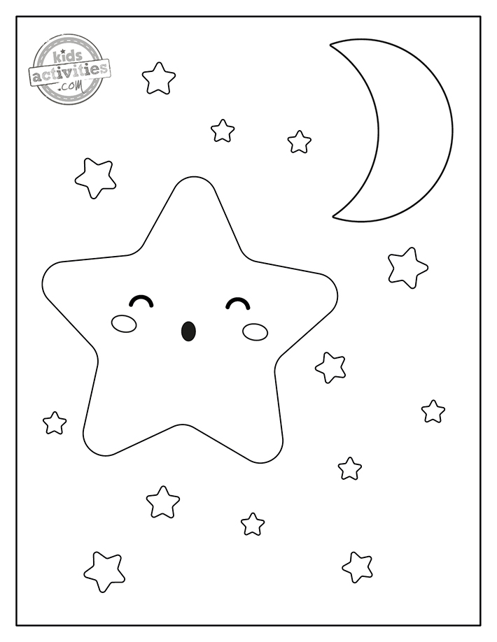 Star Coloring Pages Screenshot