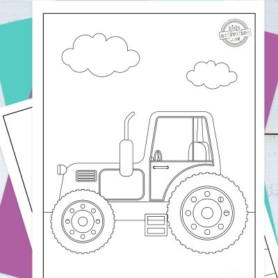 Tractor Coloring Pages Pinterest
