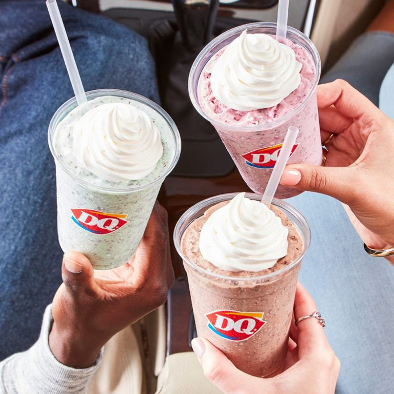 Dairy Queen Has New Flavored Chip Shakes That'll Keep You Cool All Summer