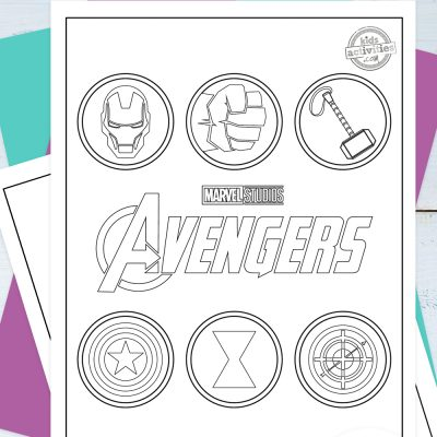 Avengers Coloring Pages Pinterest