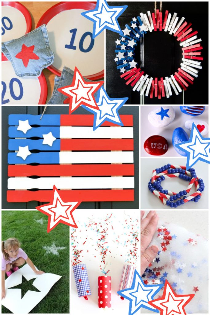 Fun Things to Do on the 4th of July with Kids - Kids Activities Blog - 8 different 4th of July crafts, activities and more featured