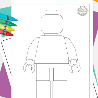 Lego Coloring Pages Pinterest