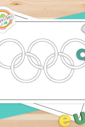 Olympics Coloring Pages Feature Image