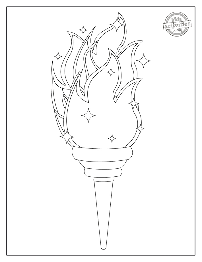 Olympics Coloring Pages Screenshot