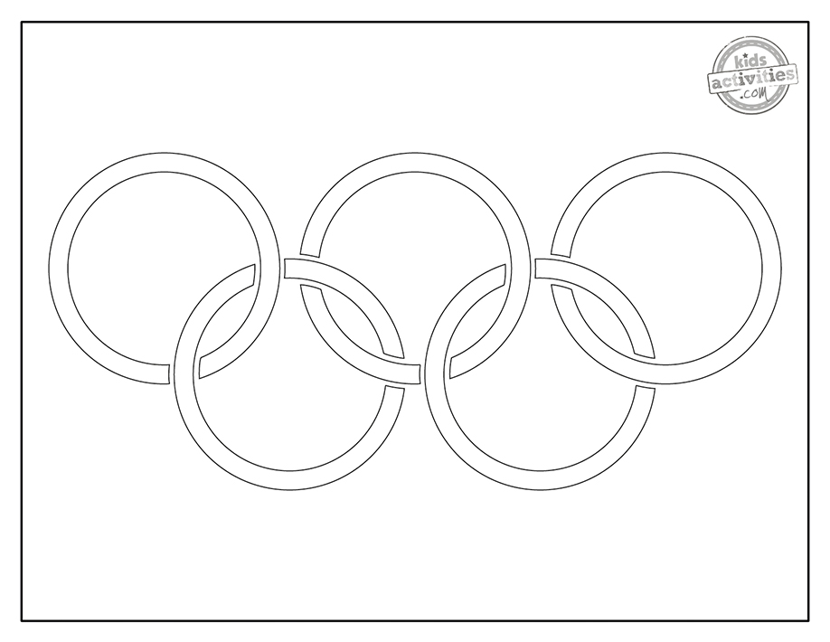 Olympics Coloring Pages Screenshot 2