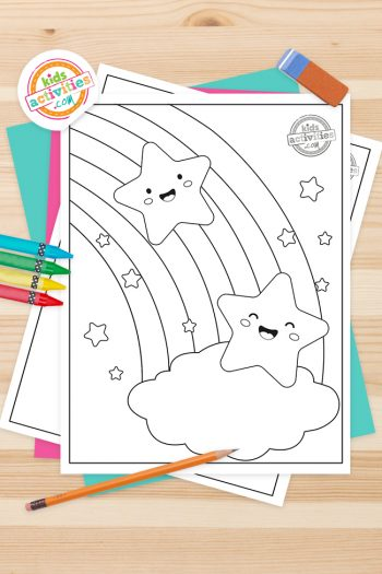 Star Coloring Pages Feature Image