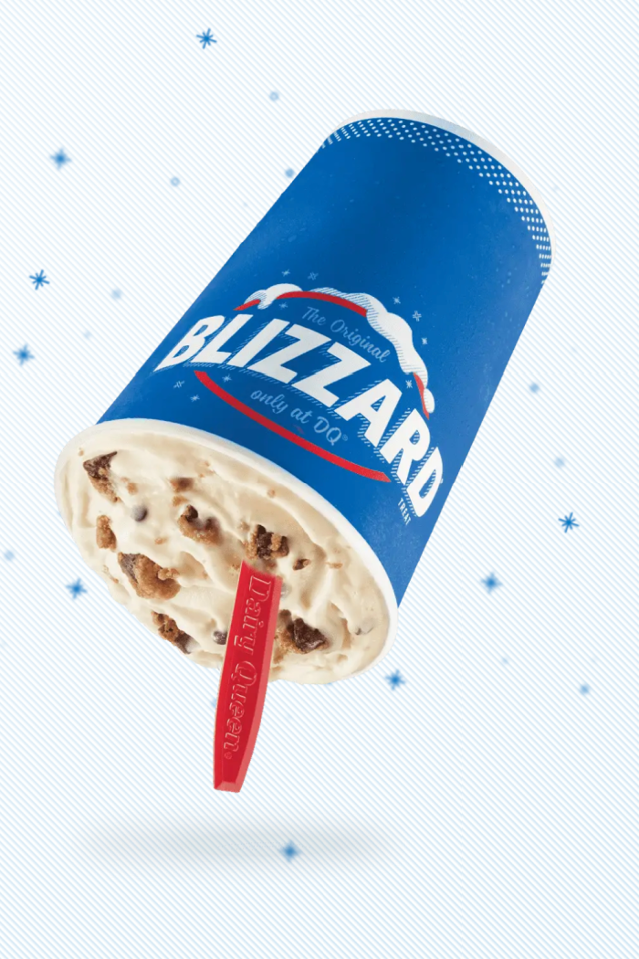 Dairy Queen Released A New Nestlé Toll House Chocolate Chip Cookie Blizzard That Is Stuffed With Cookie Pieces