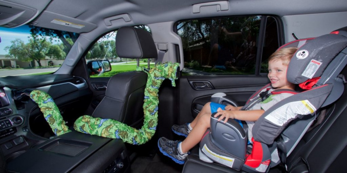 hose takes cold air from front ac to back seat to cool kids - Amazon