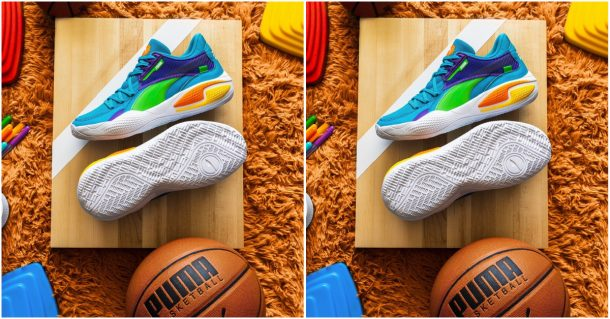 puma rainbow shoes are a must for back to school essentials