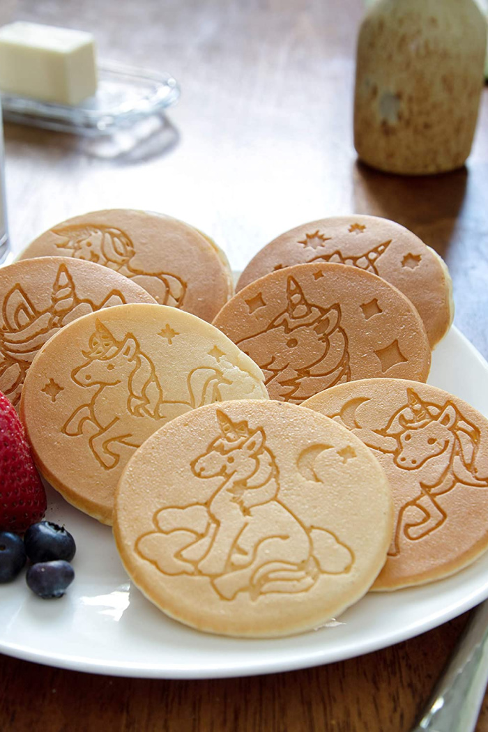 You Can Get A Unicorn Pancake Griddle That'll Bring Magic To Breakfast