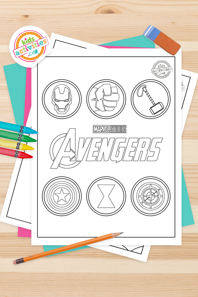 Avengers Coloring Pages – Best Coloring Pages For Kids