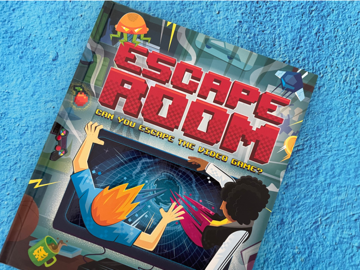 Escape Room Book - Escape from Video Game - Kids Activities Blog