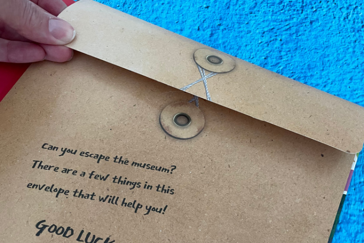 Escape Room Book pocket of puzzles and hints - Kids Activities Blog