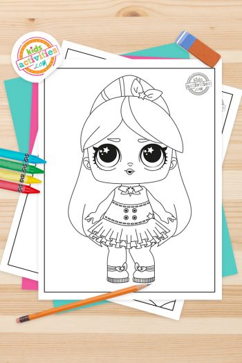 LOL Coloring Pages Feature Image