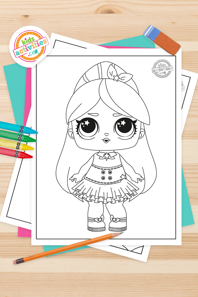 LOL coloring pages   Free Doll Coloring Pages