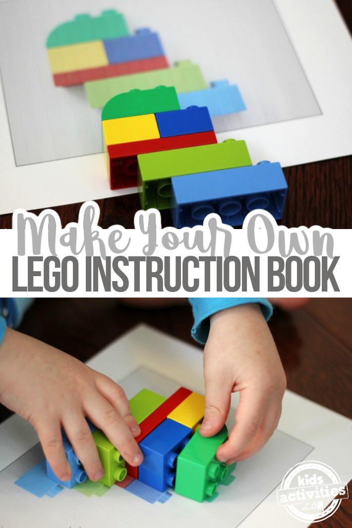 How to Make Your Own DIY LEGO Instruction Book
