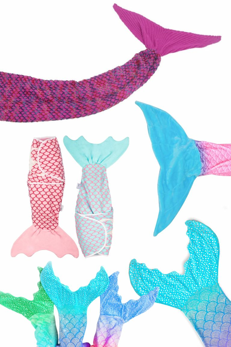 Mermaid Blankets are Adorable & I Need them All!