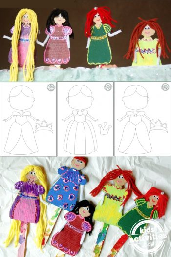 Princess-Paper-Doll-Puppets-with-Printable-Template-from-Kids-Activities-Blog