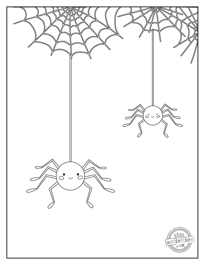 Spider Coloring Pages Screenshot 2