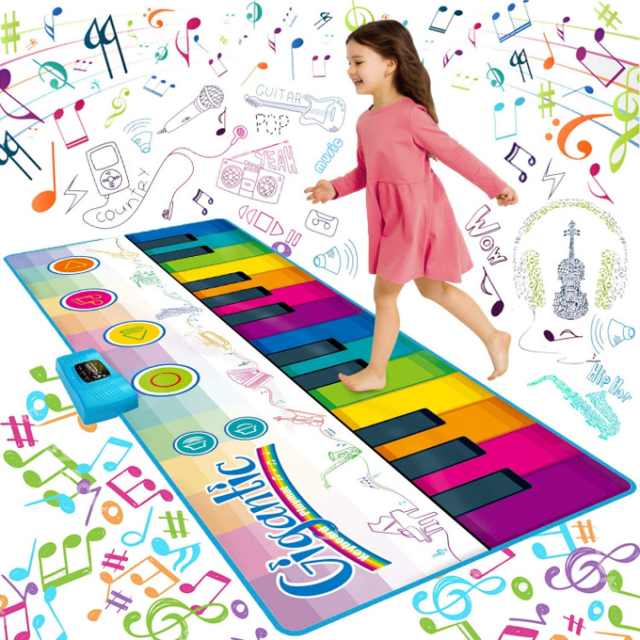 Sunlin Giant Floor Piano Mat for Kids - image from Amazon
