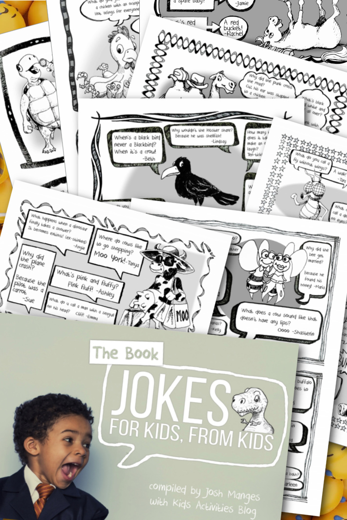51 Pages of Hysterically Funny Jokes for Kids eBook You Can Download Right Now!