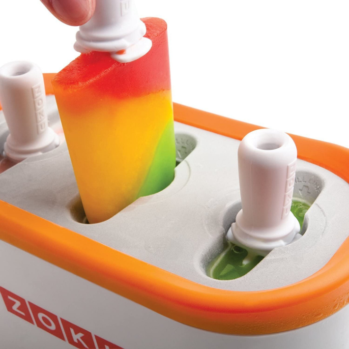 Zoku popsicle maker from Amazon - frozen popsicle made in quick pop maker