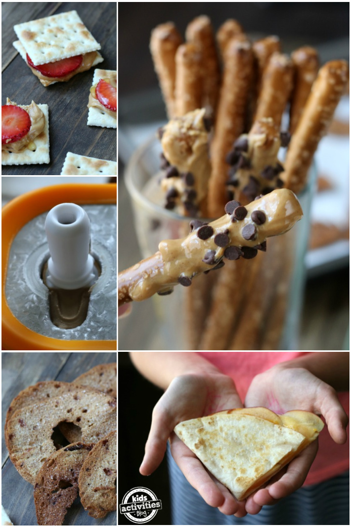 5 Easy Back to School Afternoon Snack Ideas