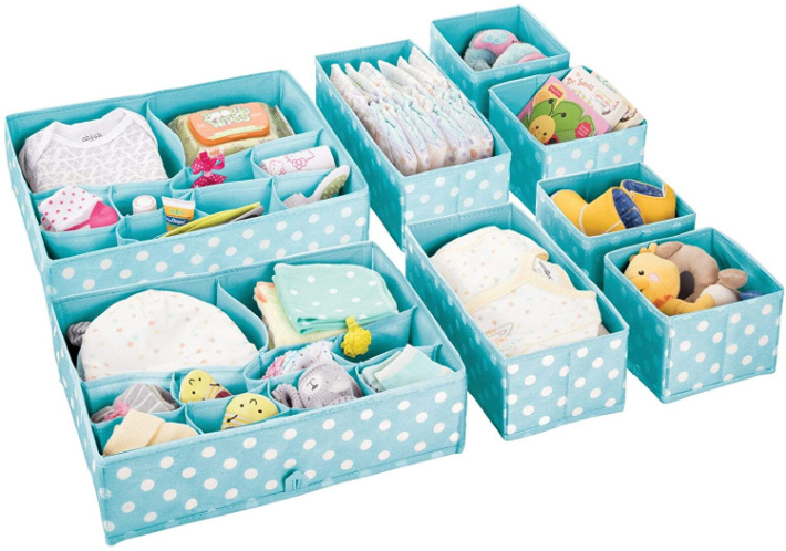 drawer organizers for nursery storage solutions - Kids Activities Blog - image from Amazon