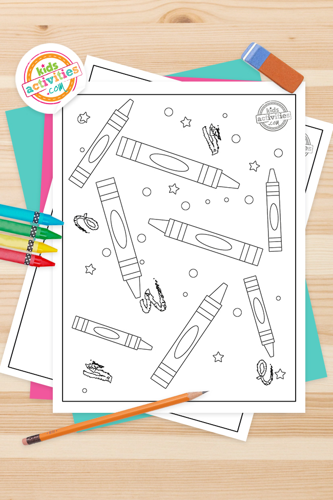 Best Crayola Coloring Pages