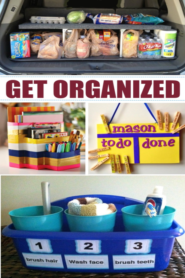 22 Genius Family Stations to Organize Your Life