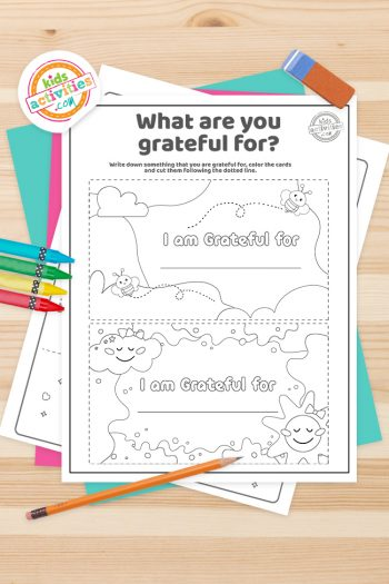Gratitude Facts Coloring Pages Screenshot Feature Image