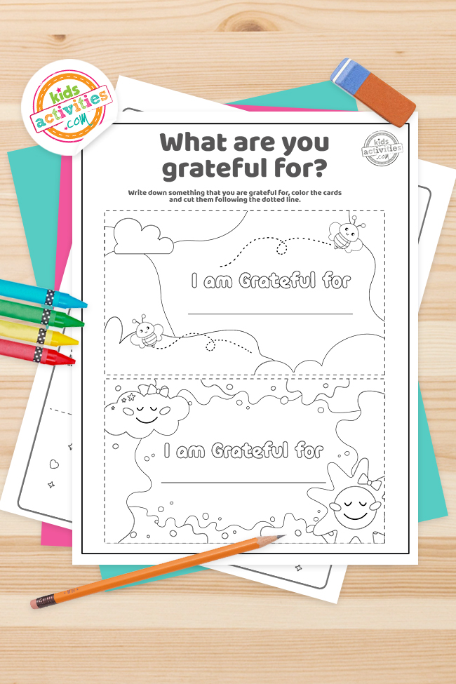 Gratitude Facts for Kids Coloring Pages