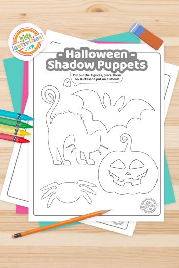 Halloween Shadow Puppets Feature Image