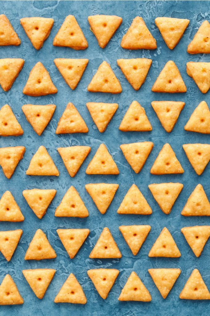 Homemade Cheese crackers from Love and Olive Oil
