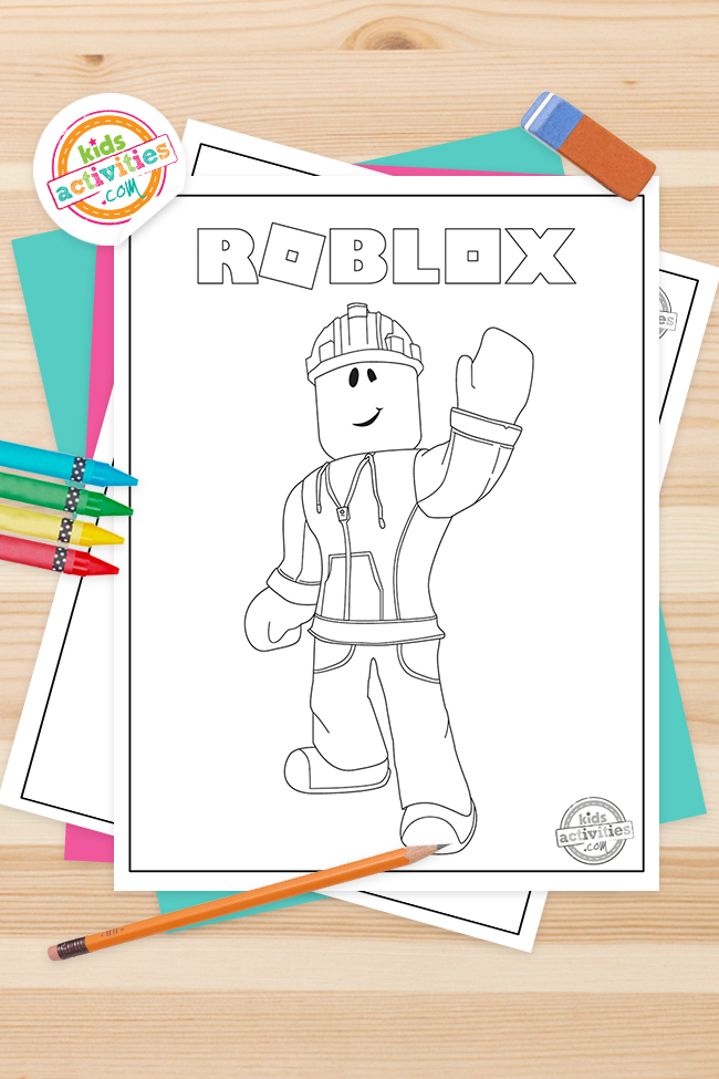 Best Creative Roblox Coloring Pages