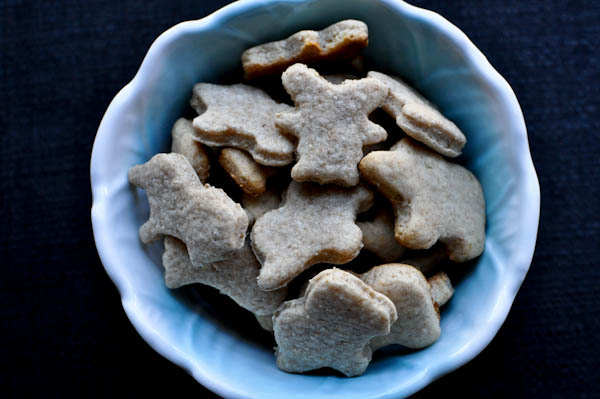 animal crackers from how sweet eats