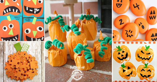 more easy pumpkin activities and crafts for kids of all ages - Kids Activities Blog