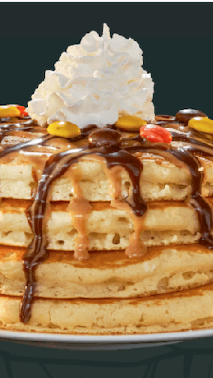 IHOP Just Released New Reese's Pieces Pancakes and I'm On My Way