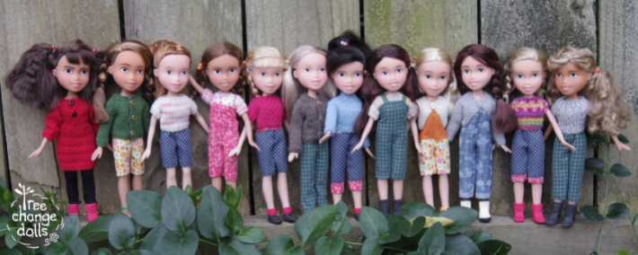 Tree Change Dolls from FB 1 - a series of realistic looking dolls that used to be fashion dolls that have had makeovers