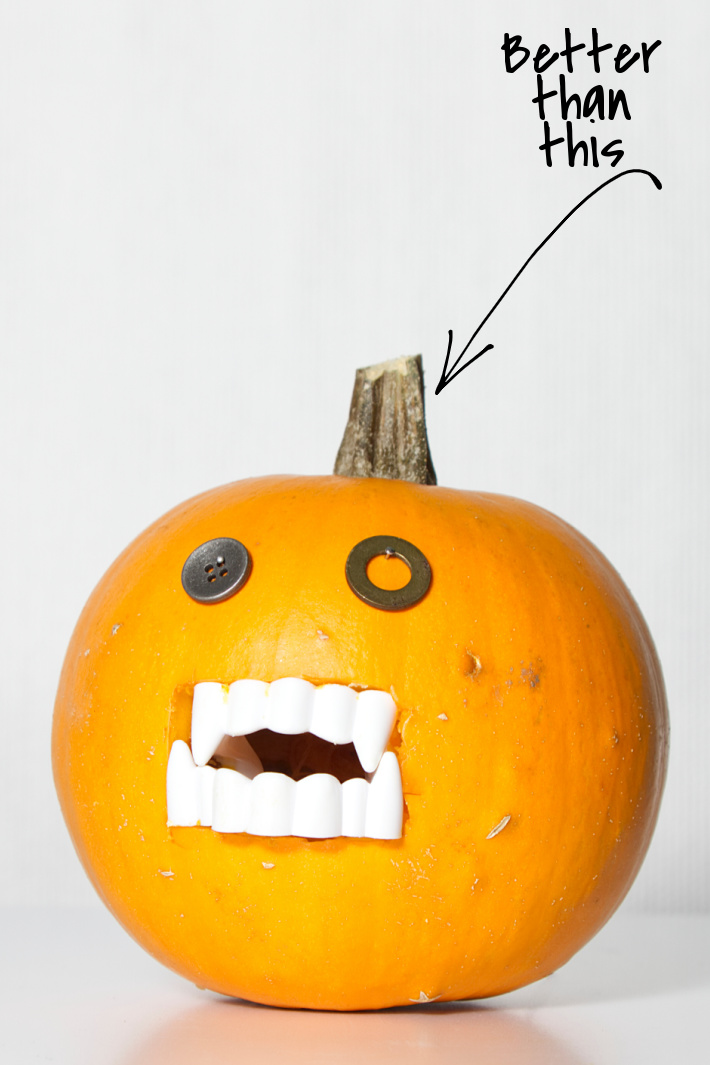 Pumpkin Teeth Are Here to Make Carving Your Pumpkins Easier