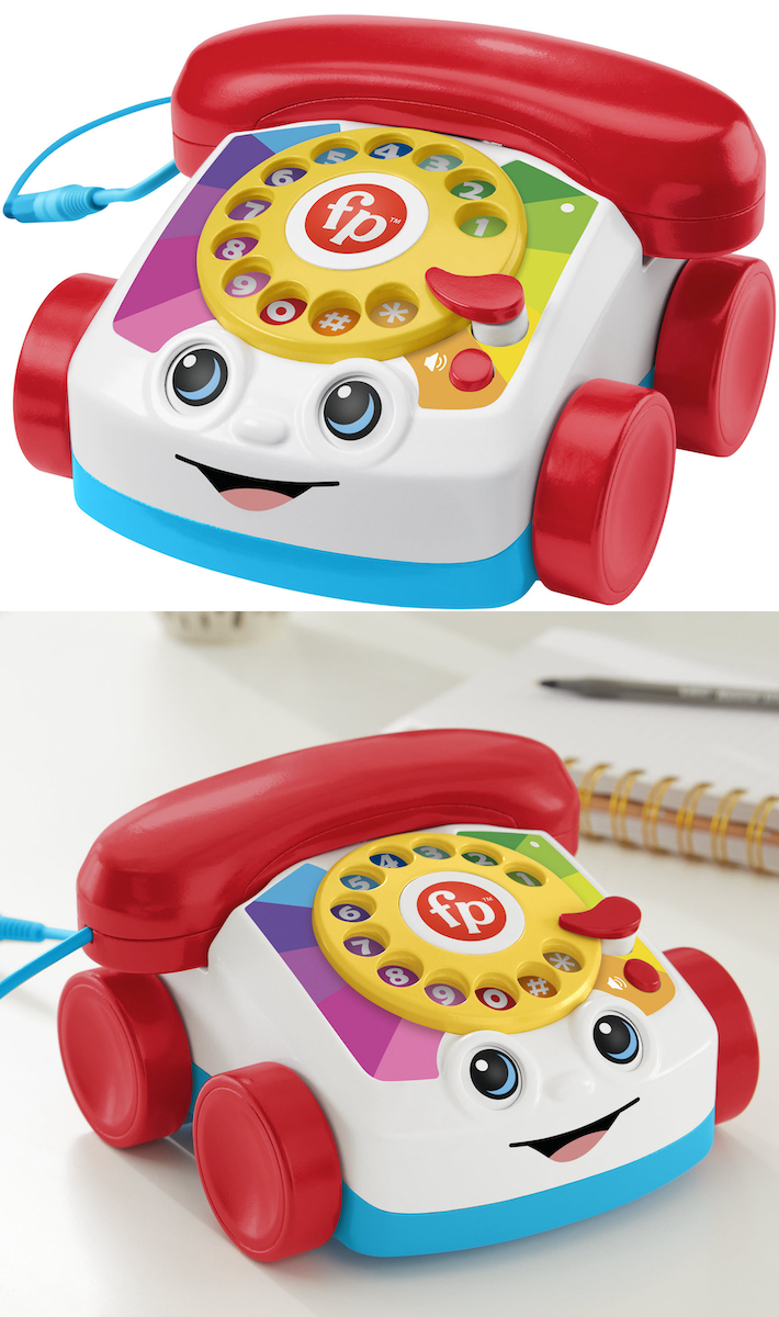 Your Childhood is Calling Because Fisher-Price Just Released A Real Chatter Telephone That You Can Actually Talk On