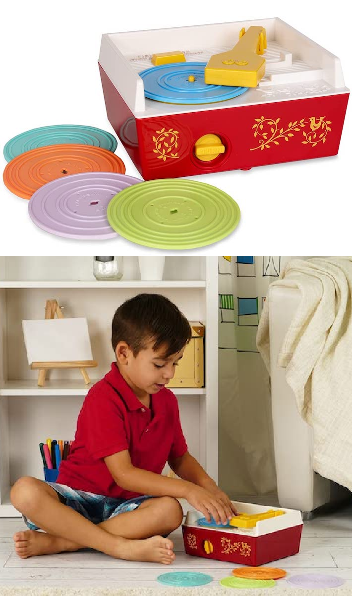 The Original Fisher-Price Record Player Is Back So Kids Can Get A Taste What Life Was Like In The '70s