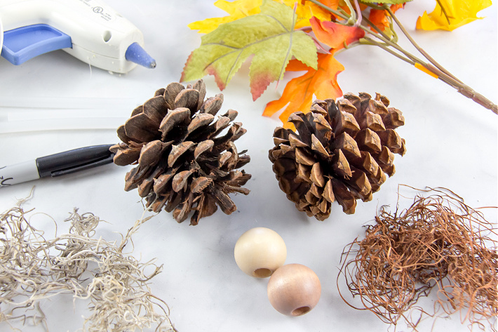 fairy pine cone craft ideas and the supplies you need