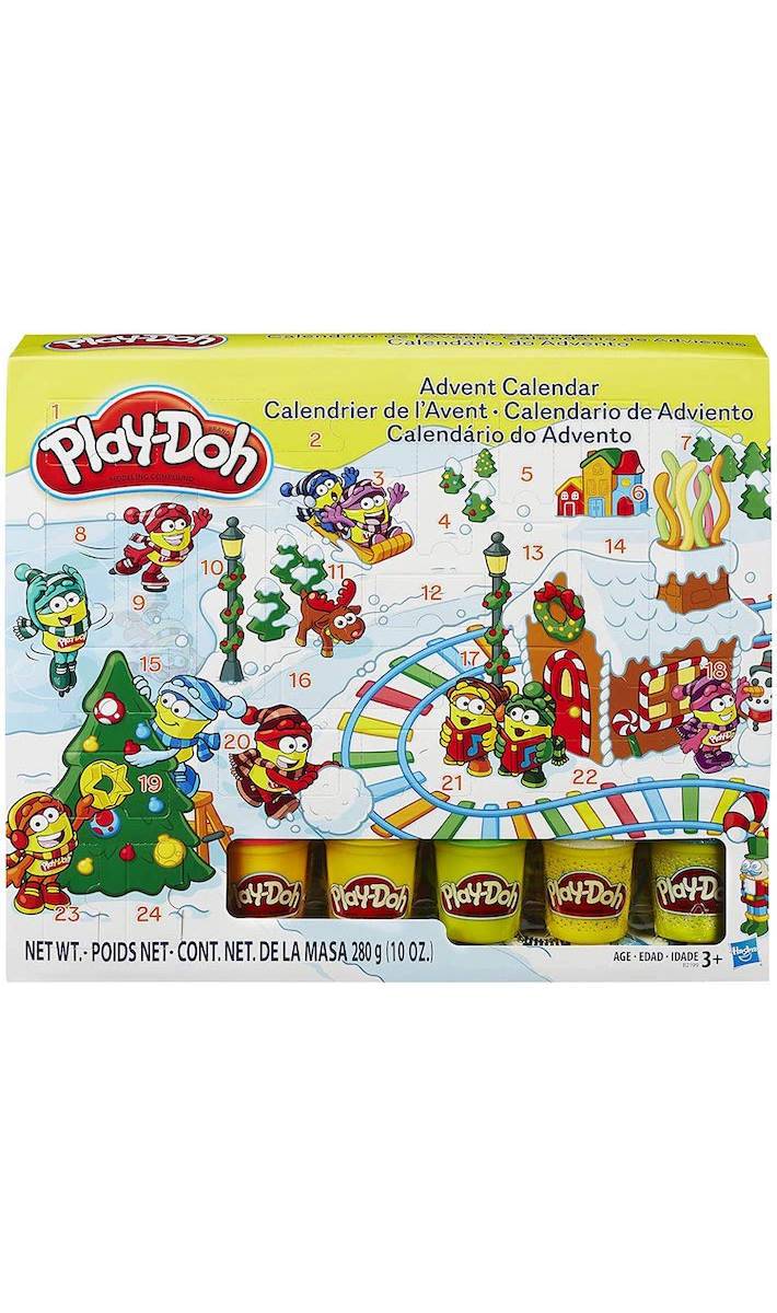 There's A Play-Doh Advent Calendar So Your Kids Can Make Messy Memories For The Holidays